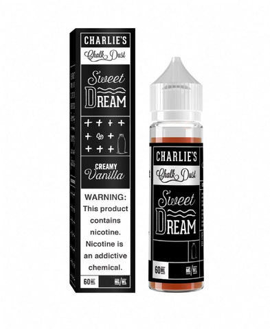 Charlies Chalk - Black Box - Sweet Dream - Creamy Vanilla (60 mls) | MorningtonVapes