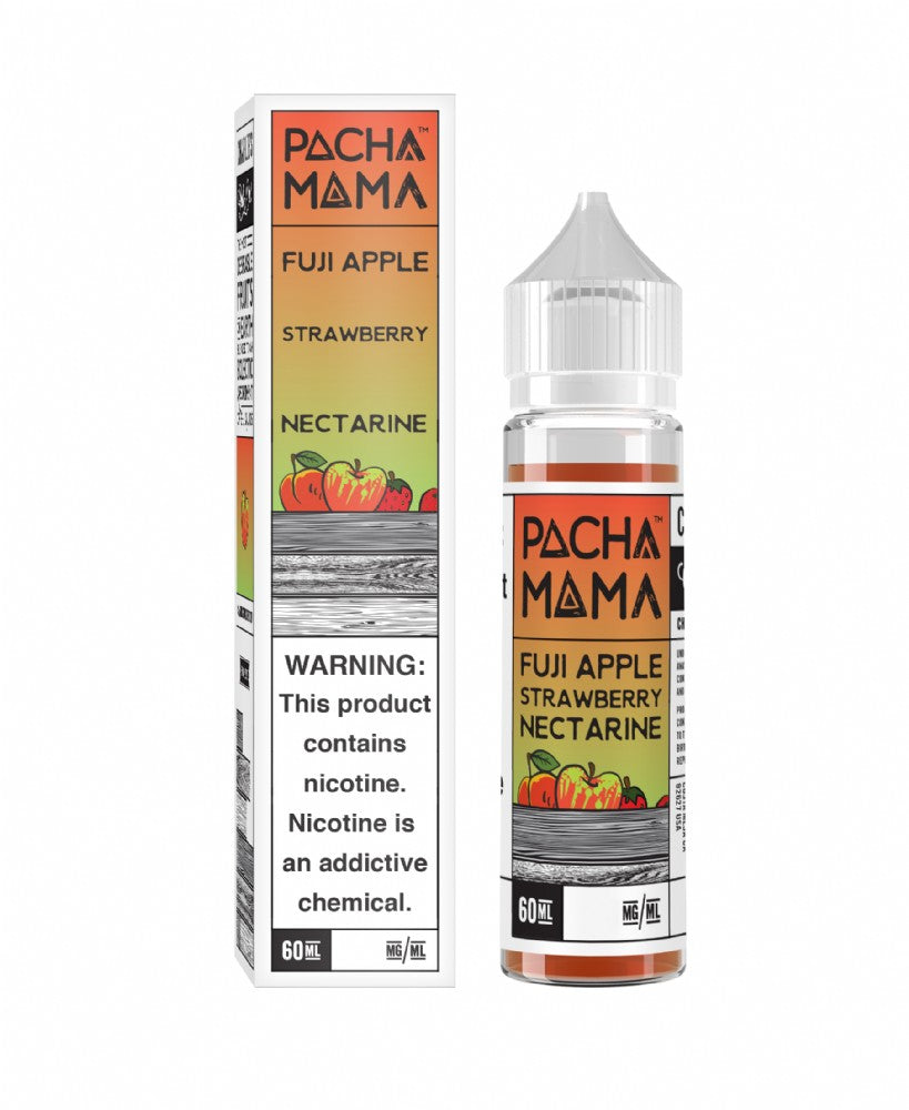Charlies Chalk - Pacha Mama - Fuji Apple Strawberry Nectarine (60mls ready to vape) | MorningtonVapes