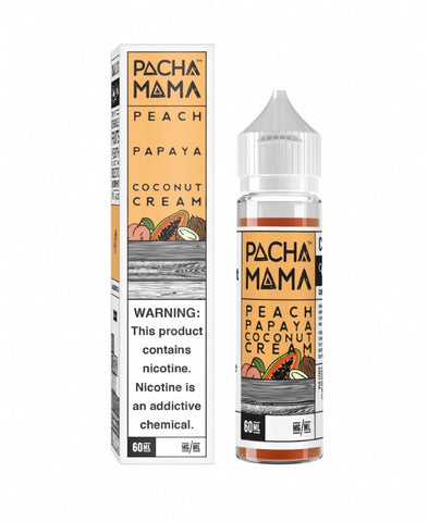 Charlies Chalk - Pacha Mama - Peach Papaya Coconut Cream (60mls ready to vape) | MorningtonVapes