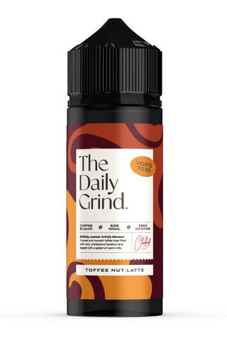 The Daily Grind - Toffee Nut Lattee - 100mls