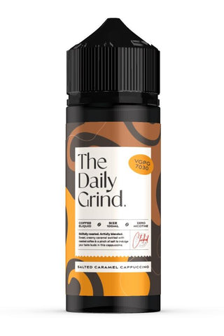 The Daily Grind - Salted Caramel Cappuccino - 100mls