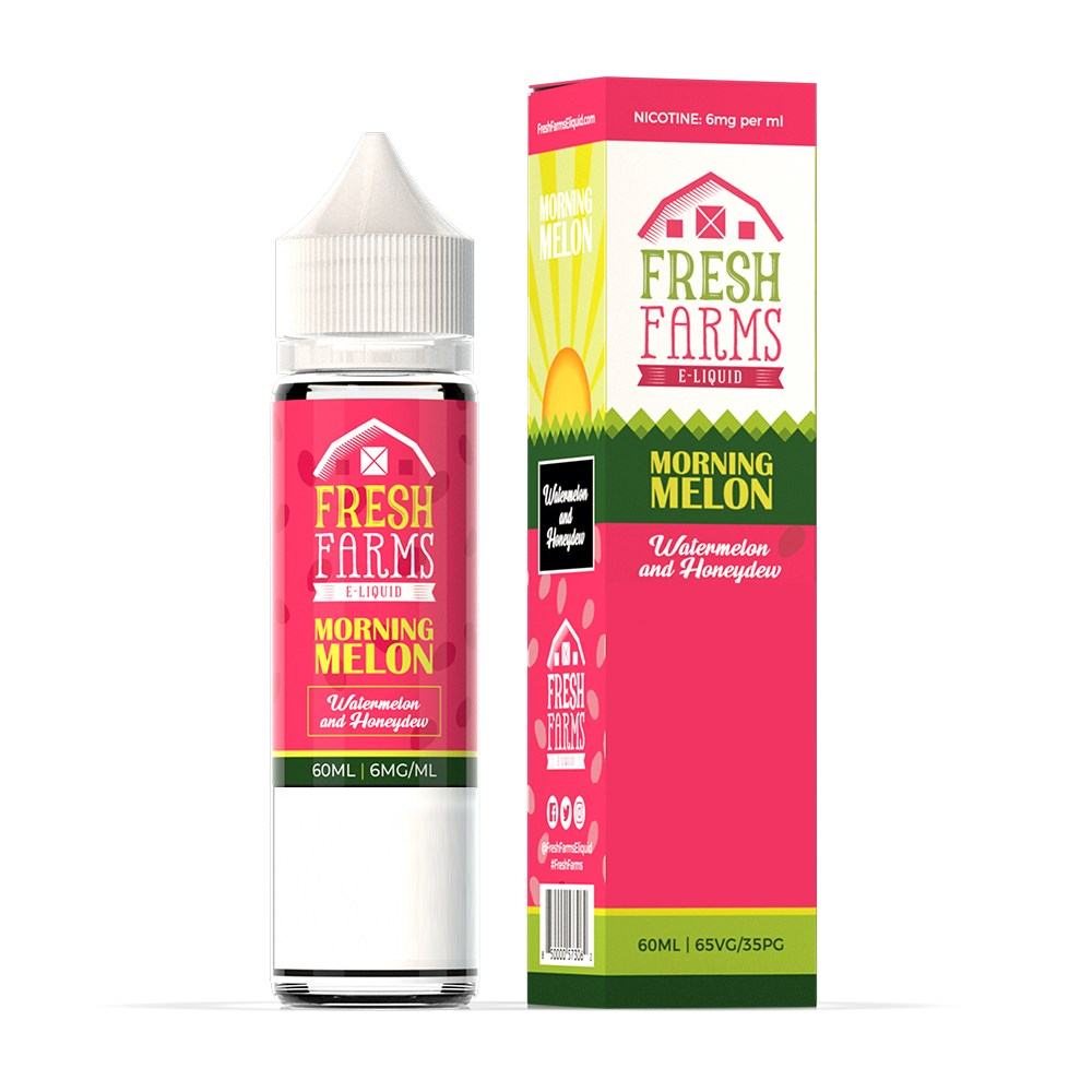 Fresh Farms - Morning Melon - 60mls | MorningtonVapes