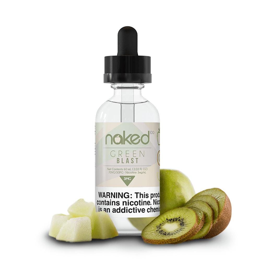 Naked 100 - Original Fruit - Green Blast - 60mls | MorningtonVapes