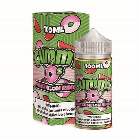 Gummy O's 100ml - Watermelon Rings | MorningtonVapes