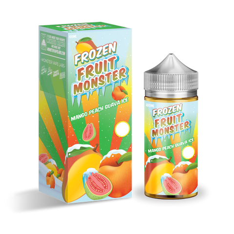Frozen Fruit Monster - Mango Peach Guava Ice - 100mls