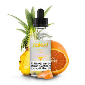 Naked 100 - Original Fruit - Maui Sun - 60mls | MorningtonVapes