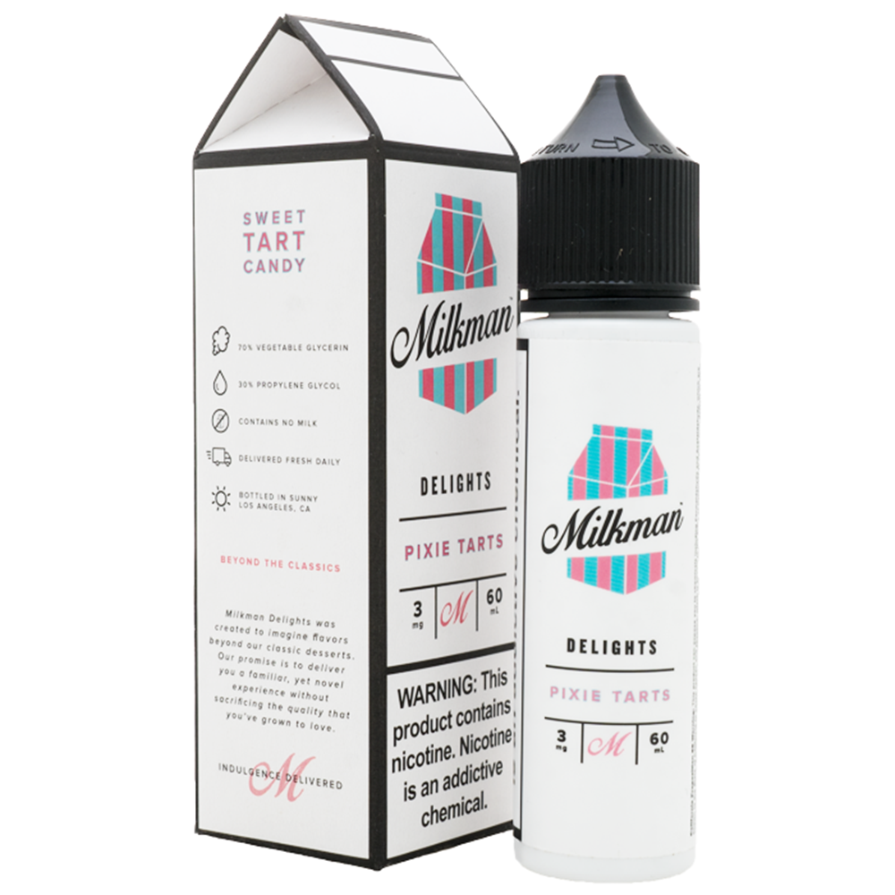 Milkman Classics - Pixie Tarts - 60mls | MorningtonVapes