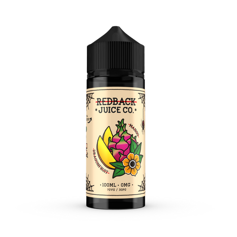 Redback Juice Co. - Mango & Dragonfruit - 100mls