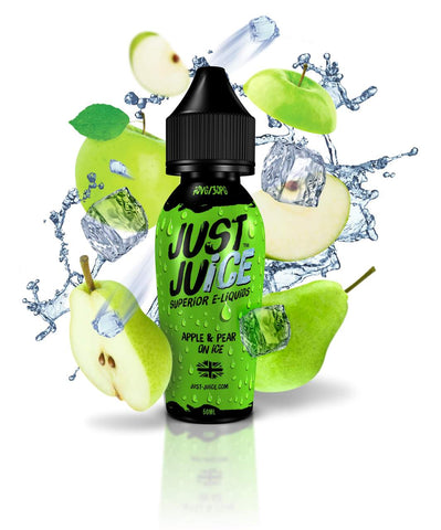 Just Juice - Apple & Pear on ICE - 60mls | MorningtonVapes