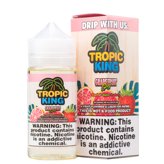 Tropic King - Grapefruit Gust - 100mls | MorningtonVapes