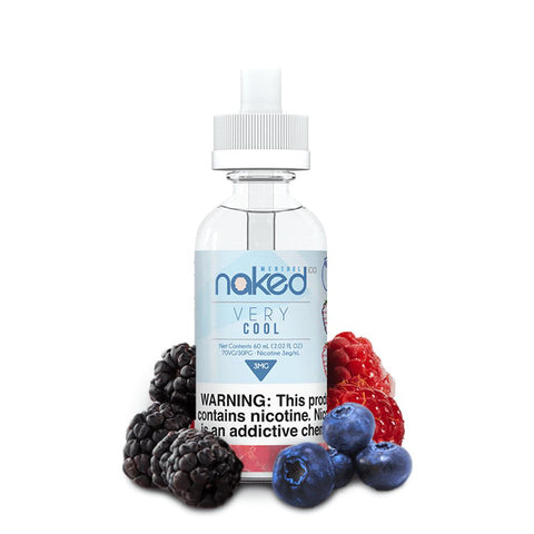 Naked 100 - Menthol - Very Cool - 60mls | MorningtonVapes