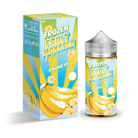Frozen Fruit Monster - Banana Ice - 100mls