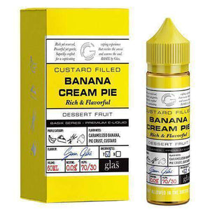 Glas Vapor - Basix Series - Banana Cream Pie - 60mls | MorningtonVapes