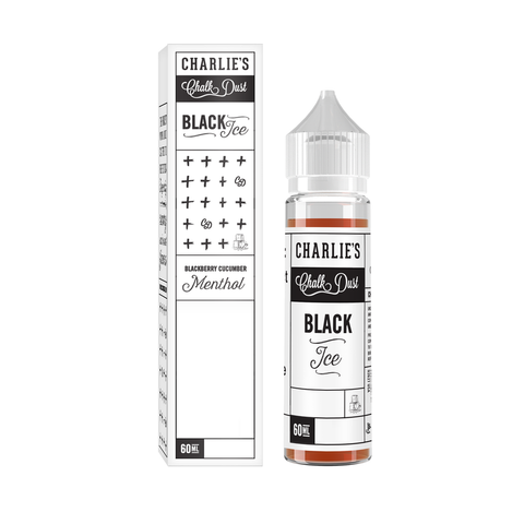 Charlies Chalk Dust - Black Ice Menthol 60ml | MorningtonVapes