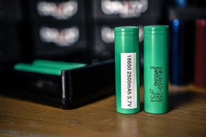 Samsung 18650 25R (20 amp / 2500 mah) | MorningtonVapes