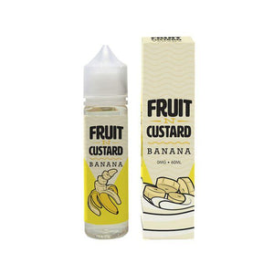 Fruit'n'Custard - Banana - 60mls | MorningtonVapes
