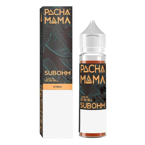 Charlies Chalk - Pacha Mama - Sub-Ohm -  Icy Mango (60mls ready to vape) | MorningtonVapes