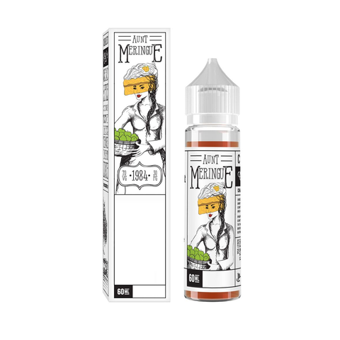 Charlies Chalk - Mr. Meringue - Aunt Meringue Apple  (60mls)