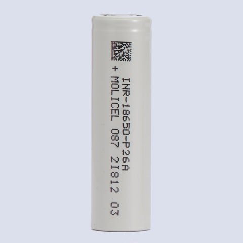 Molicel P26A 18650 Battery (1 piece)