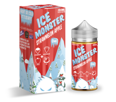 Ice Monster - Strawmelon Apple - 100mls | MorningtonVapes