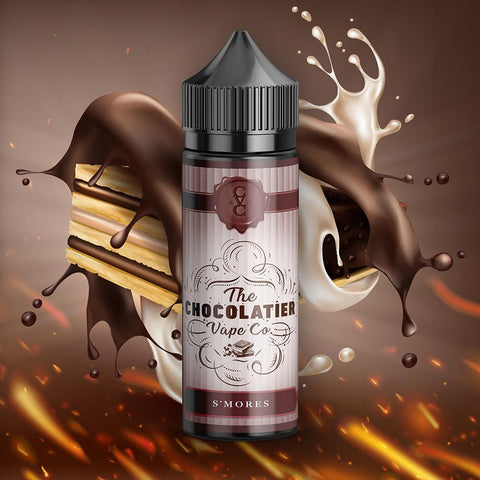 The Chocolatier Vape Co. -  S'mores - 100mls | MorningtonVapes