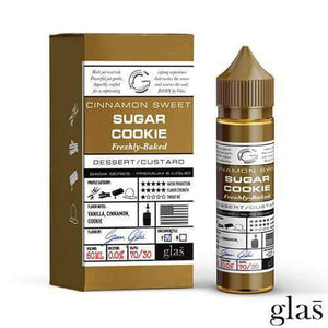 Glas Vapor - Basix Series - Sugar Cookie - 60mls | MorningtonVapes