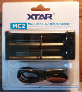 XTAR MC2 USB Battery Charger