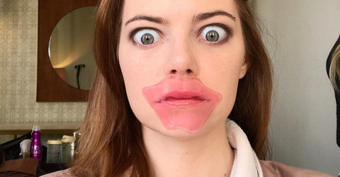 Emma Stone Lip Mask