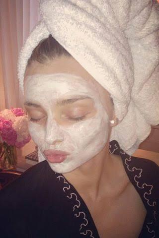 Miranda Kerr Face Mask