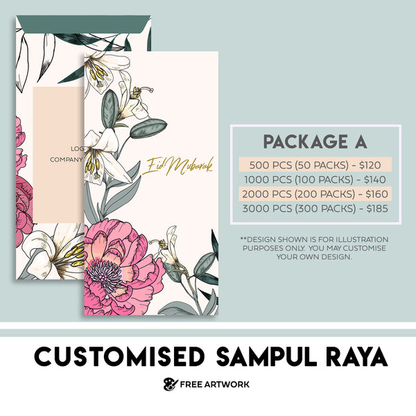 Customised Sampul (Package A)