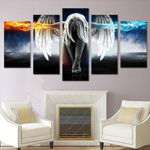 Angel Canvas Print - Rebel Heat