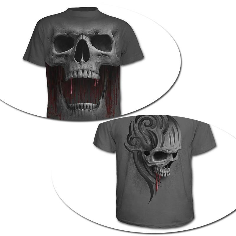 Bloodthirster Skull T-shirt - Rebel Heat