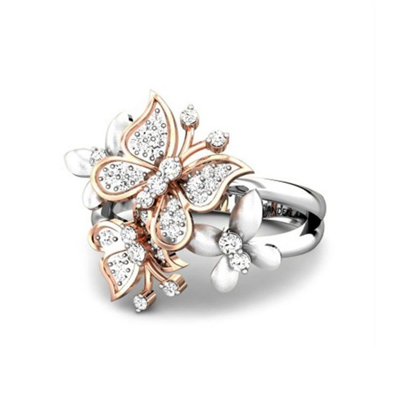 'Caprice' Butterfly Ring - Rebel Heat