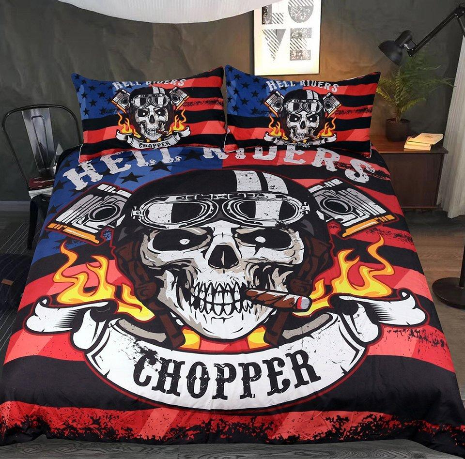 Chopper Bedding Set - Rebel Heat