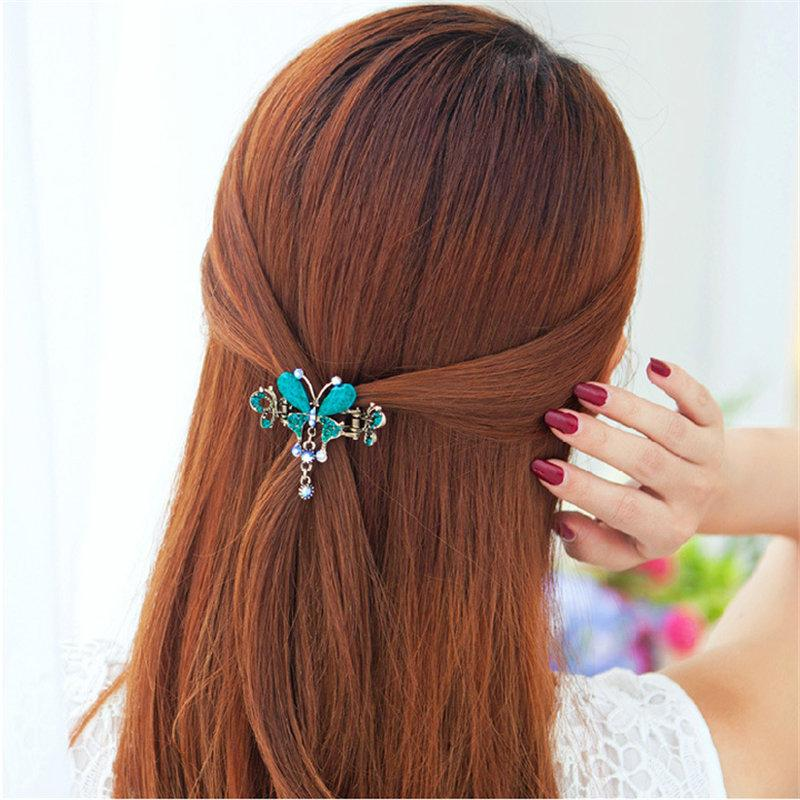 Crystal Butterfly Hairpin - Rebel Heat