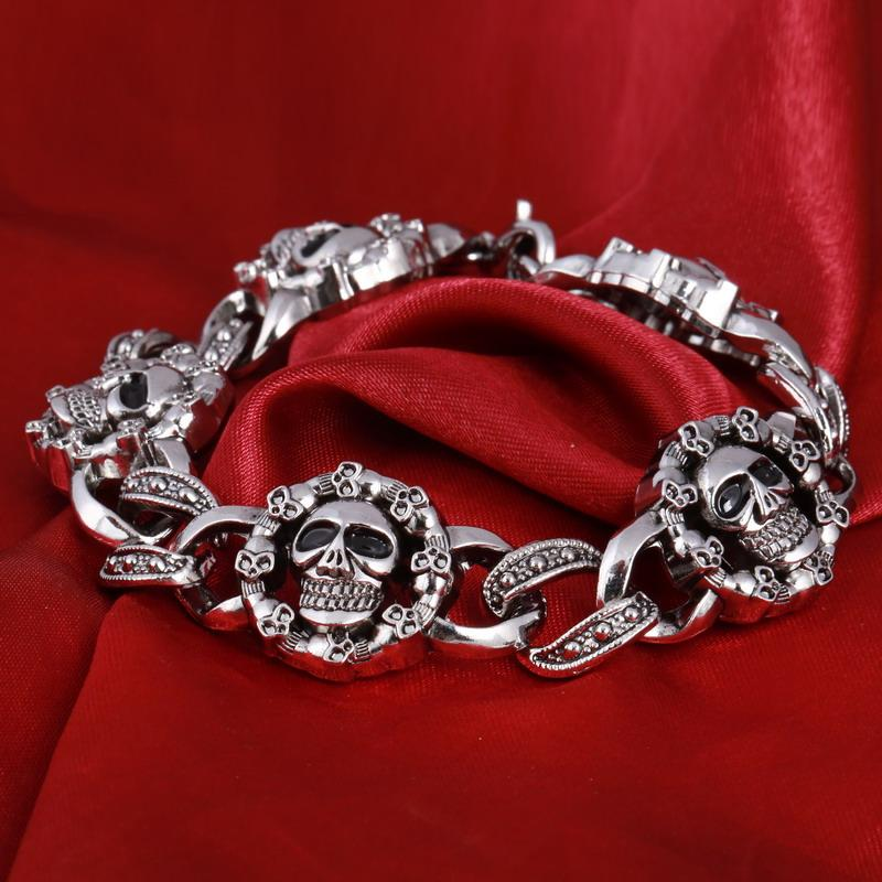 Frenzy Skull Bracelet - Rebel Heat