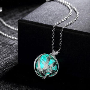 Glow in the Dark Ball Necklace - Rebel Heat