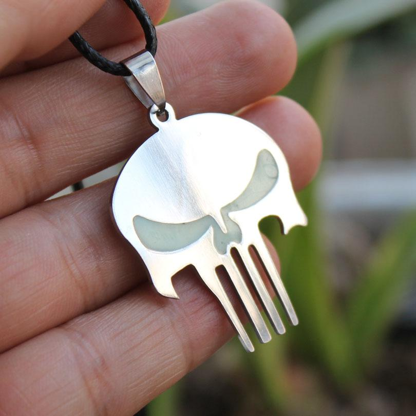 Glow in the Dark Skeleton Necklace - Rebel Heat