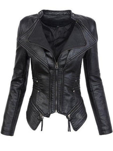 Gothic PU Jacket - Rebel Heat