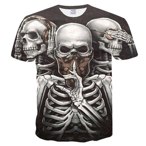 *Limited Edition* Skulls Nation T-shirts - Rebel Heat
