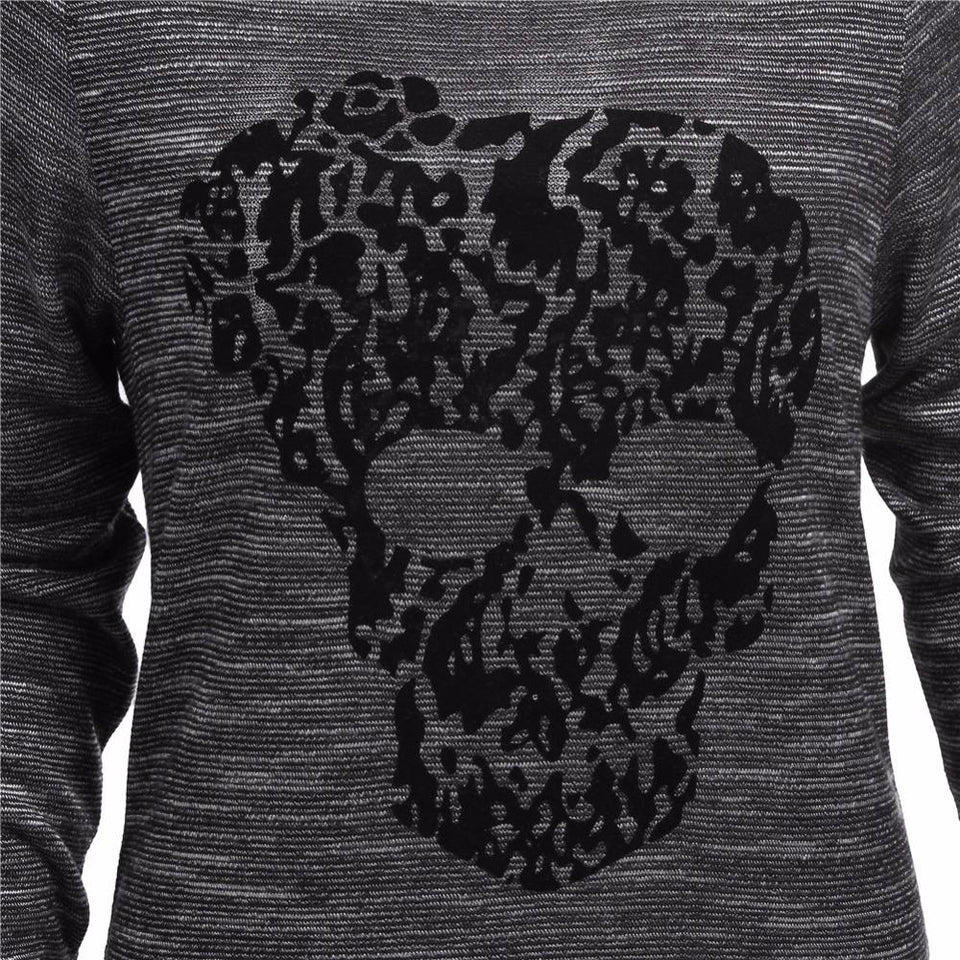 Long Sleeve Skull Tops - Rebel Heat