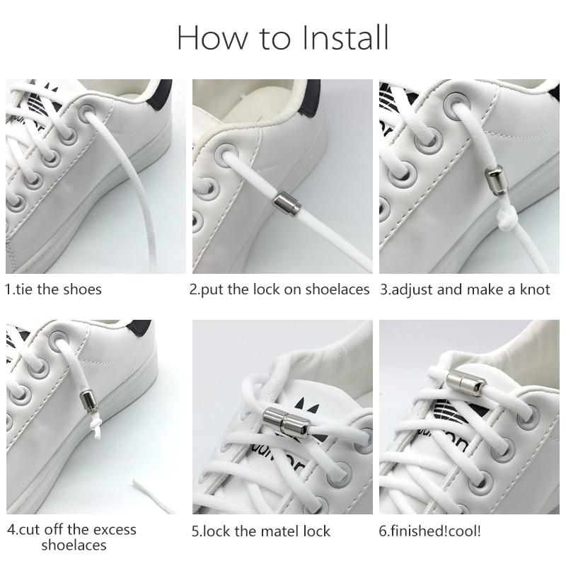 No Tie Shoelaces For Sneakers - Rebel Heat