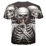 Skulls Nation T-shirt - Rebel Heat