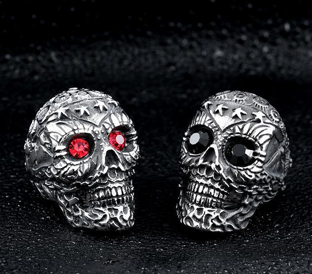 Soldier Skull Ring - Rebel Heat