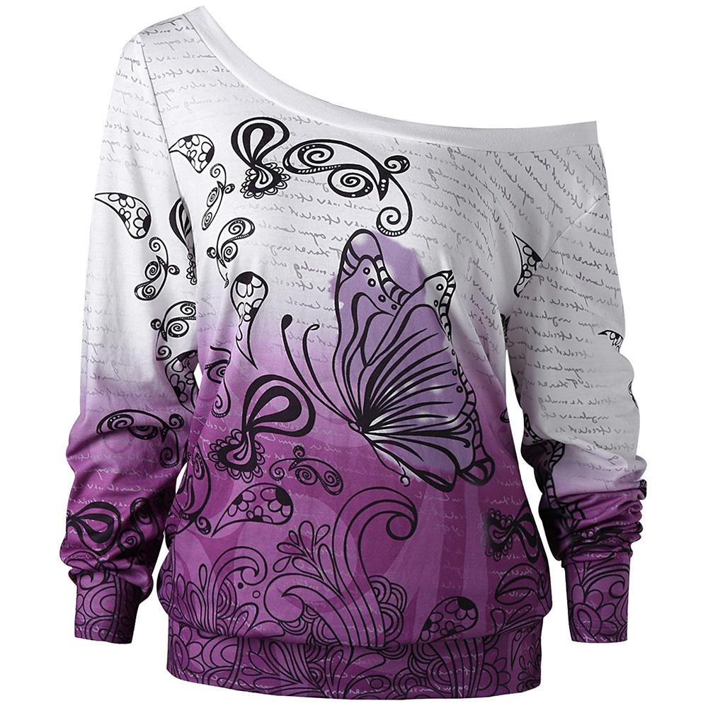Spring Butterfly Sweatshirt - Rebel Heat