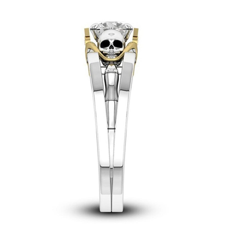 Victorious Skull Ring - Rebel Heat