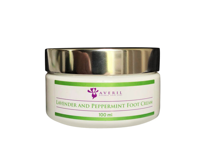 Lavender and Peppermint Foot Cream (Refreshing & Relaxing)