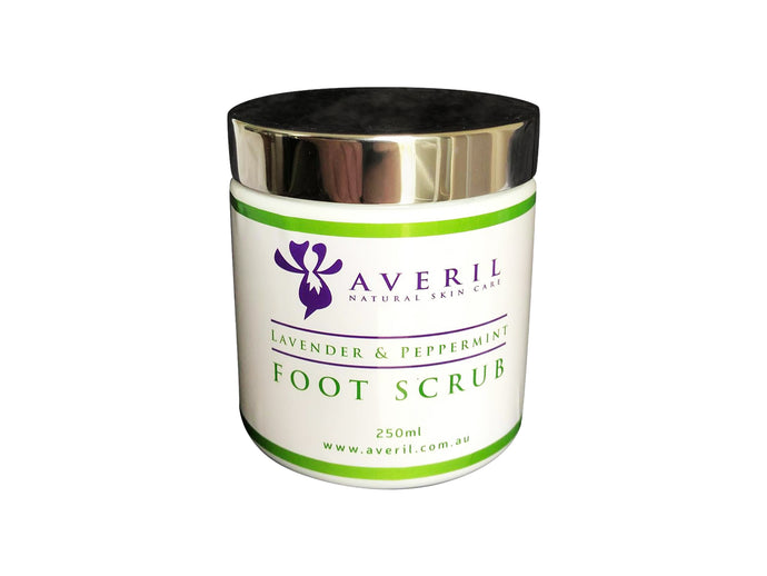 Averil Lavender and Peppermint Foot Scrub (Relaxing and Refreshing)