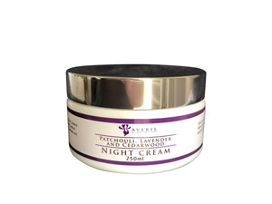 Averil Patchouli, Lavender and Cedarwood Night Cream (Treatment Range)