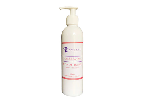 Averil Rose Geranium Conditioner (Dry to Curly Hair)